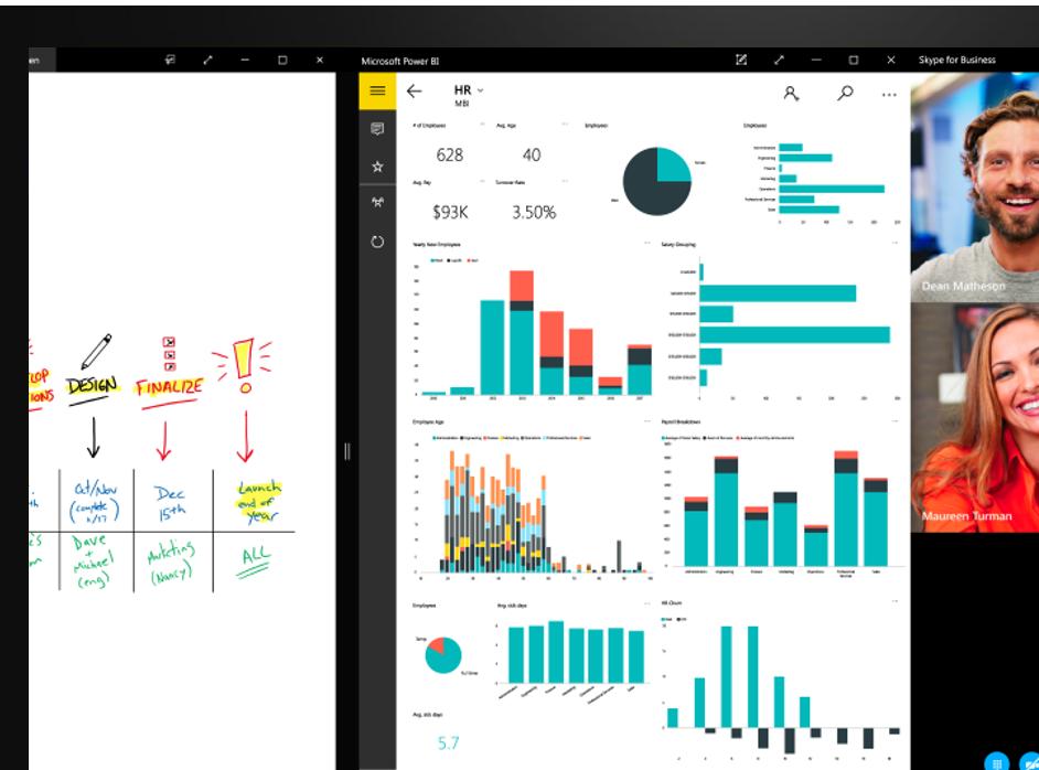 Microsoft Team Video Meeting Screen Shot | Modern Collaboration With Microsoft Teams