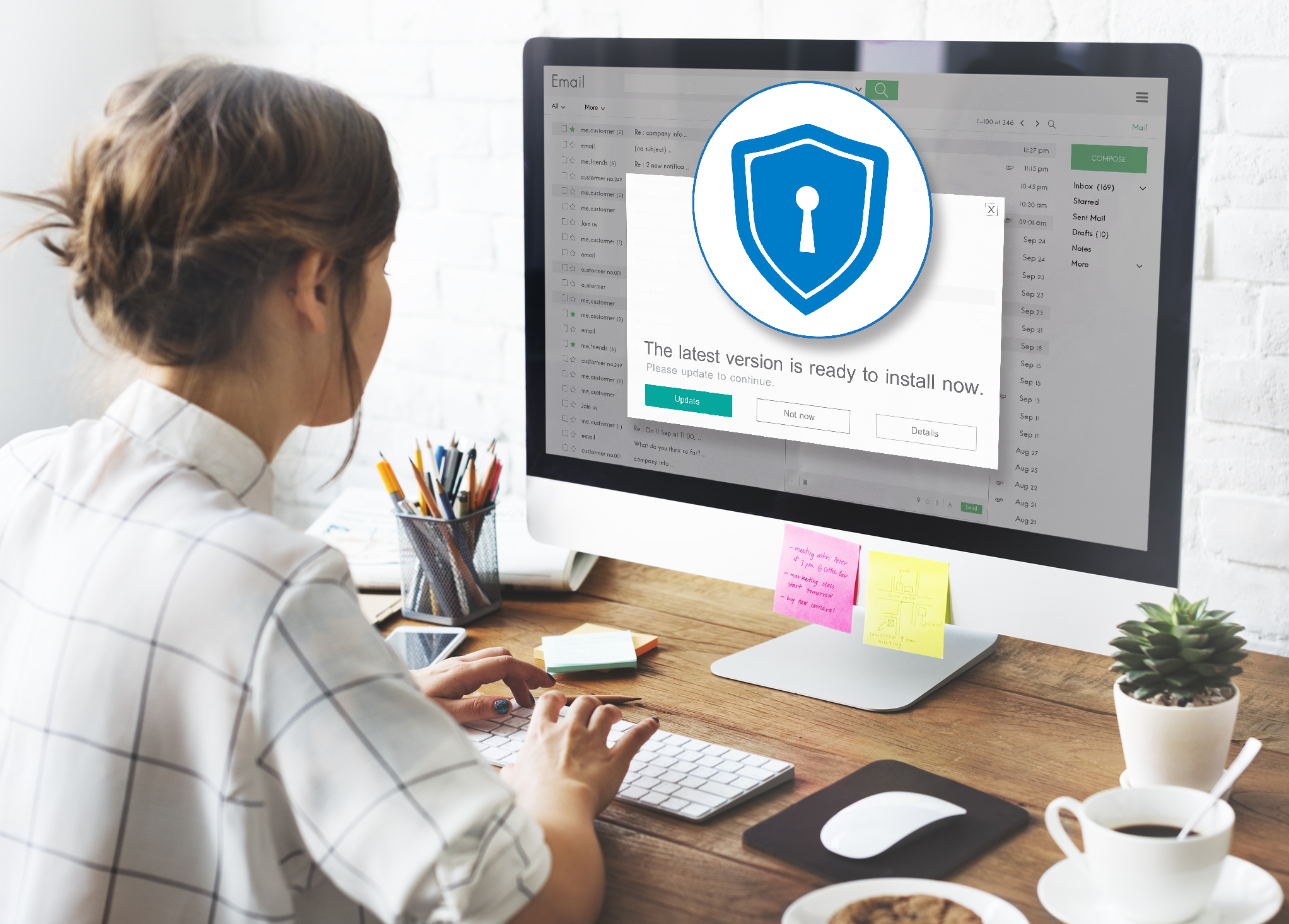 Firewall Antivirus Alert Protection Security Caution Concept   A Small Business Guide To Firewalls